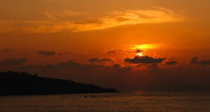 Deep Sunset Stock Photography