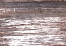 Deep Taupe abstract watercolor background. Hand-drawn abstract watercolor texture. Used contrasting and transient colors Stock Photo