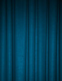 Deep teal draped backdrop background Royalty Free Stock Images