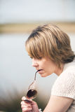 Deep in thought Royalty Free Stock Photos