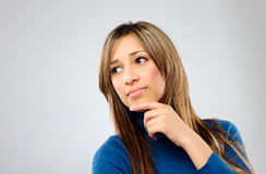 Deep in thought Royalty Free Stock Photography