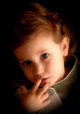 Deep Thought. Young girl in deep thought Royalty Free Stock Images