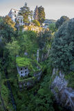 Deep valley of the mills in Sorrento. View of the deep valley of the mills in Sorrento, Italy Royalty Free Stock Image