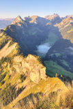 Deep  valley, Switzerland Royalty Free Stock Photography