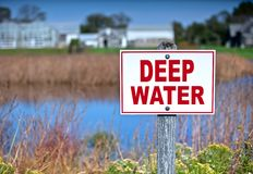 Deep Water Royalty Free Stock Photo