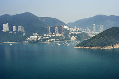 Deep Water Bay in Hongkong Royalty Free Stock Image