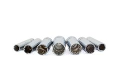 Deep Well Sockets Stock Image