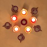 Deepak στο φεστιβάλ Diwali Στοκ Εικόνες
