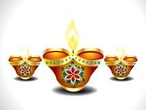 Deepak set background. Vector illustration Royalty Free Stock Image