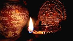 Deepam & x28; una luce nel dark& x29; Immagine Stock