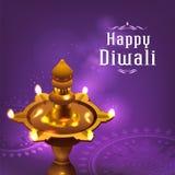 Deepavali节日设计 免版税库存照片