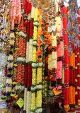 Deepavali Decorations for Sale in Little India, Singapore royalty free stock photo