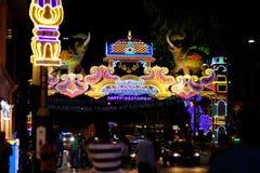 Deepavali festival Royaltyfria Foton