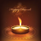 Deepavali festival design Royalty Free Stock Photo