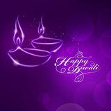 Deepavali festival design Royalty Free Stock Photos