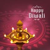 Deepavali festival design Stock Image