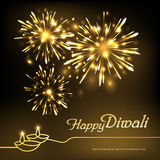 Deepavali festival design Royalty Free Stock Photography