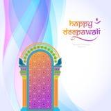 Deepavali festival design Royalty Free Stock Image