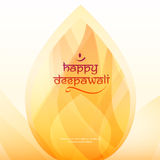 Deepavali festival design Stock Photo