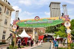 Deepavali festival i Kuala Lumpur Fotografering för Bildbyråer