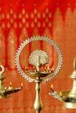 Deepavali Greetings Stock Photo
