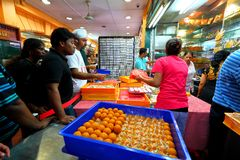 Deepavali singapore. SINGAPORE: Little India is a very popular area with tourists visiting Singapore. One of the best time to visit little India is just before Stock Photography