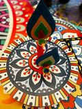 Deepawali-Feier Stockfotografie