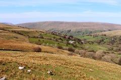 Deepdale en Dentdale in de Dallen van Yorkshire Royalty-vrije Stock Foto's