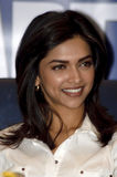 Deepika Padukone, actriz indiana foto de stock royalty free