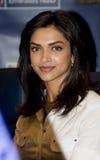 Deepika Padukone, attrice indiana Fotografie Stock Libere da Diritti