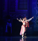 """Deeply attracted and attached to each other- ballet """"One Thousand and One Nights"""" Royalty Free Stock Images"""