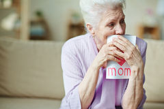 Deeply touched Stock Images