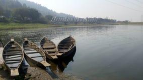 Deepor beel在阿萨姆邦 库存照片