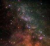 Deeps van ruimte Stock Foto's