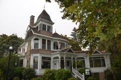 Deepwood godsherrgård, Salem, Oregon royaltyfria foton