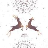 Deer amazing silhouette Stock Photo