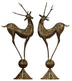 Deer bronze Royalty Free Stock Photo