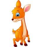 Deer cartoon illustration Royalty Free Stock Images