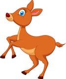 Deer cartoon. Illustration of Deer cartoon character Stock Images