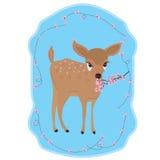 Deer cherry Stock Image
