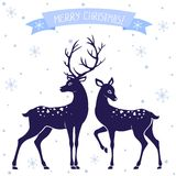 Deer Christmas Royalty Free Stock Image
