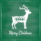 Deer for Christmas Stock Photos