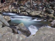 Deer Creek gwałtowni tęsk ujawnienie Ja obrazy stock