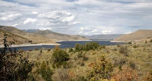 Deer Creek Reservoir. Near Salt Lake City Stock Photography
