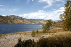 Deer Creek Reservoir. Near Salt Lake City Stock Images
