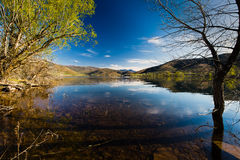 Deer Creek-Reservoir in Utah Stock Foto's