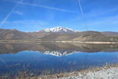 Deer Creek Reservoir, Utah Royalty Free Stock Images