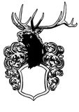 Deer crest Royalty Free Stock Photography