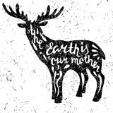 Deer Earth Stock Images