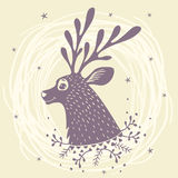 Deer fabulous Royalty Free Stock Photo